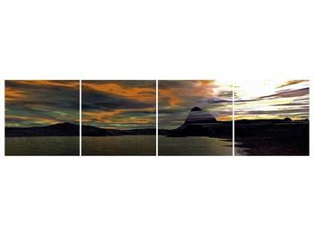 Obraz moře v temné obloze (F001564F16040)