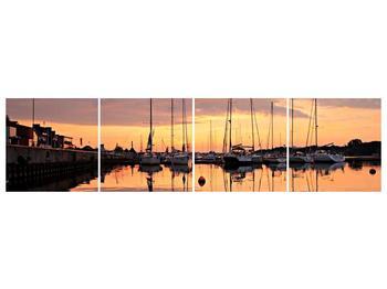 Obraz přístavu (F001605F16040)