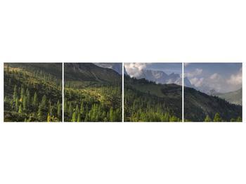 Krásný obraz hor (F001632F16040)