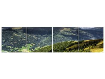 Obraz horského údolí (F001635F16040)