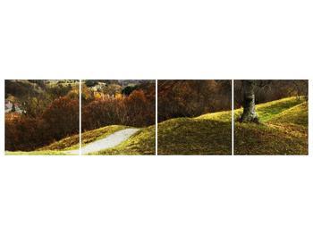Obraz podzimního pahorku (F001650F16040)