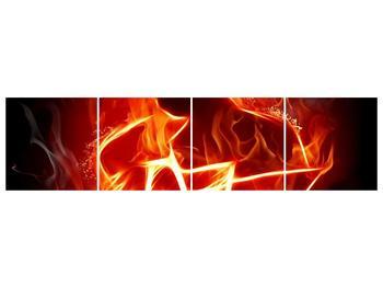 Obraz ohnivé postavy (F001691F16040)
