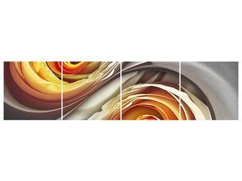 Abstraktní obraz - spirál (F001693F16040)