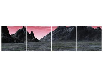 Obraz skalnaté přírody (F001712F16040)