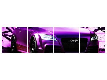Obraz fialové Audi (F002349F16040)