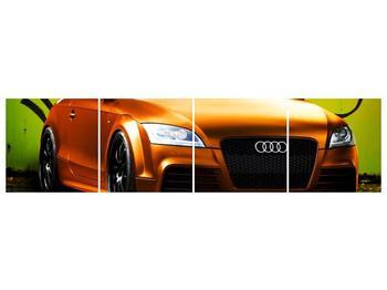 Obraz oranžové Audi (F002351F16040)