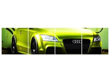 Obraz zelené Audi  (F003676F16040)