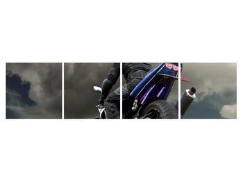 Tablou cu motociclist cu motocicletă (K011302K16040)