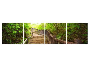 Tablou cu trepte ducând prin peisaj (K011329K16040)