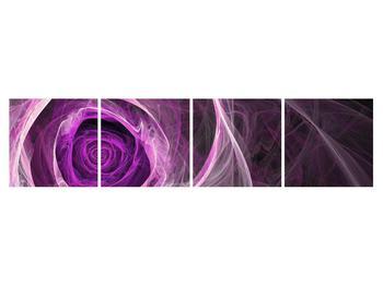 Moderný obraz fialovej ruže (K011482K16040)
