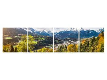Tablou cu peisaj montan (K011867K16040)