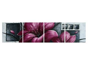 Tablou modern cu flori (K012355K16040)