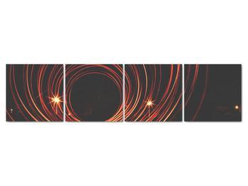 Obraz abstraktních linek (V020030V16040)