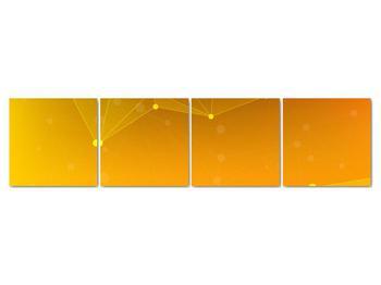 Abstraktní žlutý obraz (V020045V16040)