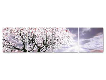 Červený obraz stromu (V020052V16040)