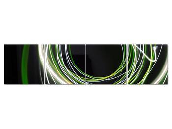 Obraz zelených čiar (V020054V16040)