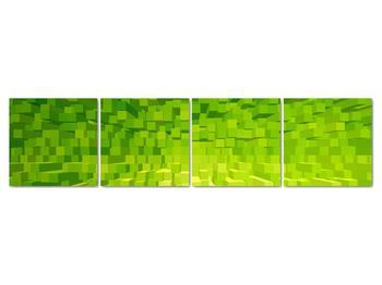 Obraz žlutozelených kostiček (V020057V16040)