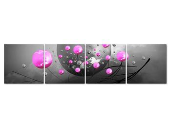 Obraz ružových gulí (V020105V16040)