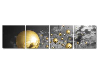 Obraz okrových gulí (V020109V16040)