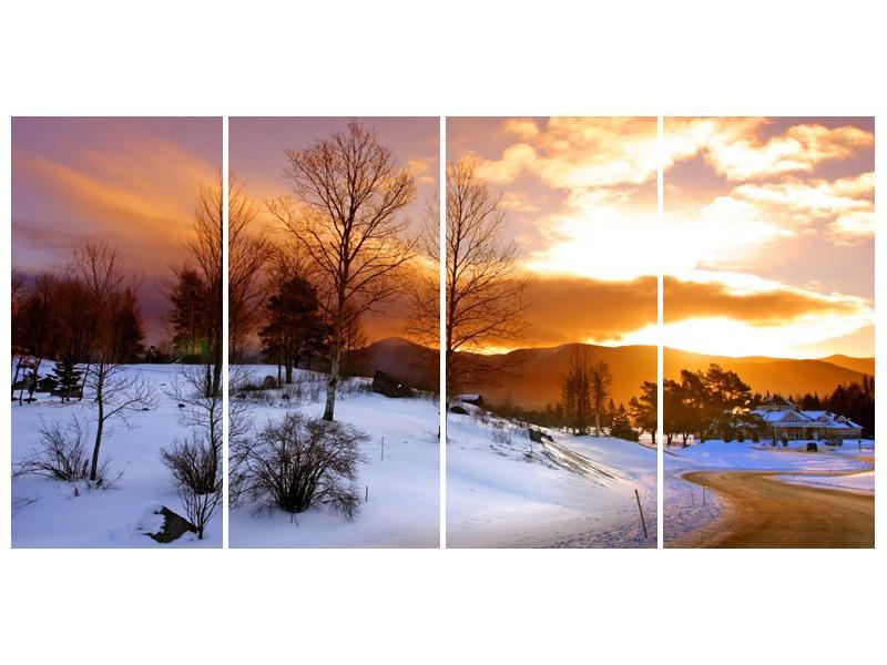 Obraz zimní krajiny (F000031F16080)