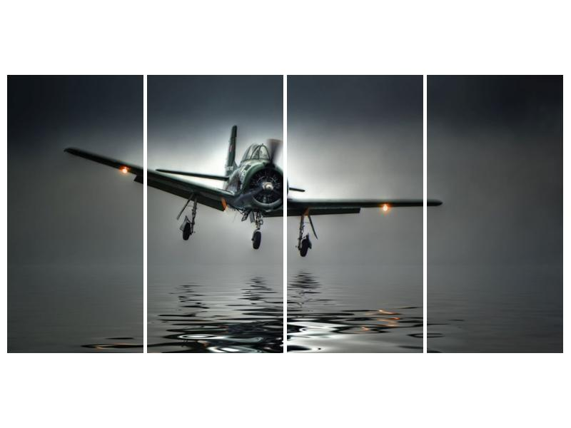 Obraz letadla  (F001593F16080)