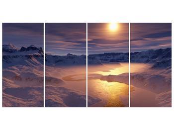 Krásný obraz zimní krajiny (F000939F16080)