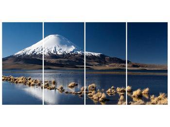 Obraz zasněžené hory (F000974F16080)