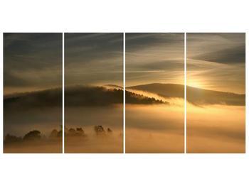 Obraz hor v mlze (F001451F16080)