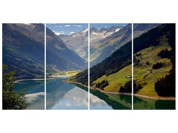 Obraz horského údolí (F001494F16080)