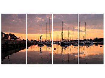 Obraz přístavu (F001605F16080)