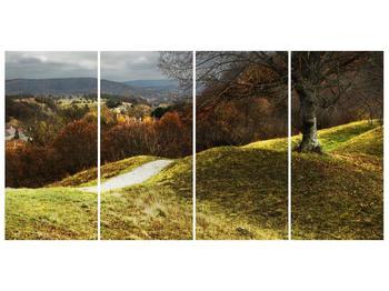 Obraz podzimního pahorku (F001650F16080)
