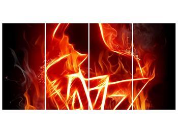 Obraz ohnivé postavy (F001691F16080)