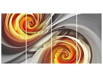 Abstraktní obraz - spirál (F001693F16080)