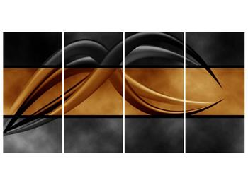 Dvoubarevný obraz chapadel (F002027F16080)