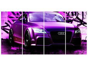 Obraz fialové Audi (F002349F16080)