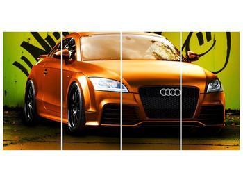 Obraz oranžové Audi (F002351F16080)