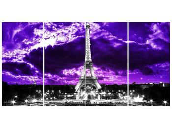 Obraz Eiffelovy věže v Paříži (F003006F16080)