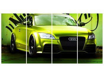 Obraz zelené Audi  (F003676F16080)