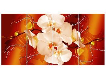 Obraz bílých orchidejí (F005694F16080)