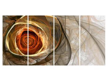 Tablou modern cu trandafir (K011863K16080)