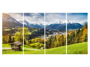 Tablou cu peisaj montan (K011867K16080)