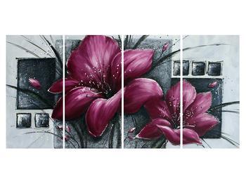 Tablou modern cu flori (K012355K16080)