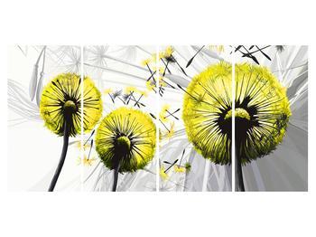 Tablou galben cu păpădii (K014028K16080)