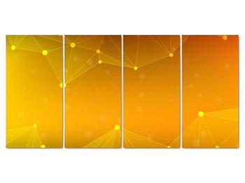 Abstraktní žlutý obraz (V020045V16080)