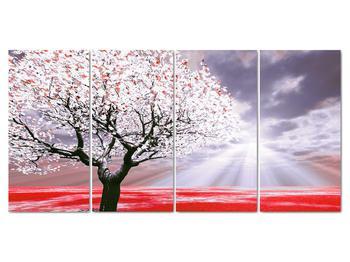 Červený obraz stromu (V020052V16080)
