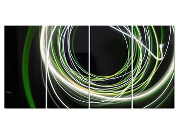 Obraz zelených čiar (V020054V16080)