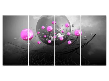Obraz ružových gulí (V020105V16080)