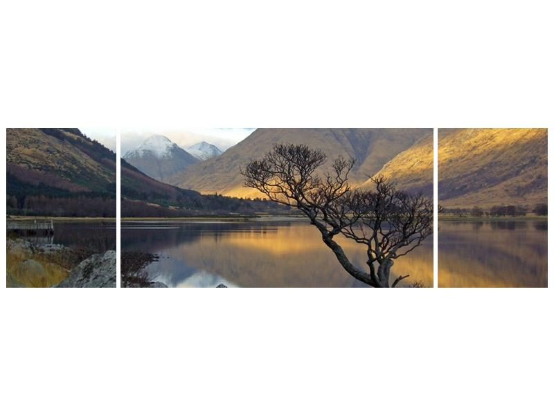 Obraz hor u jezera (F000686F17050)