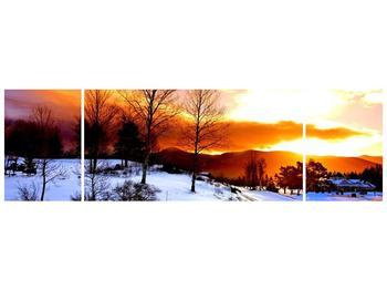 Obraz zimní krajiny (F000192F17050)