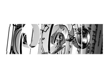 Moderní obraz houslového klíče (F000206F17050)